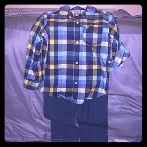 4t boys carters outfit